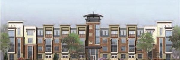 Mô hình của dự án nhà ven sông tại Baton Rouge