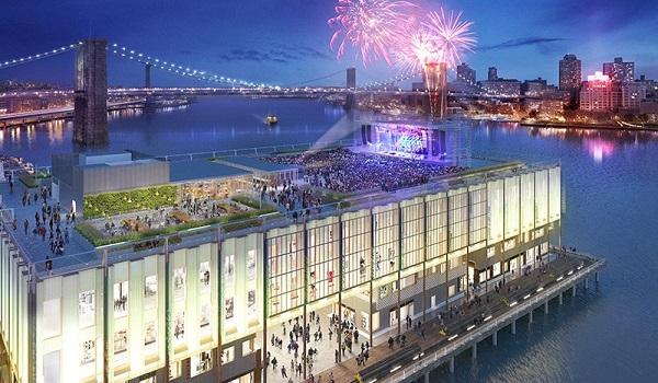 Mô hình dự án Pier 17 của tập đoàn The Howard Hughes